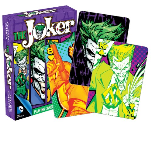 Aquarius DC Comics Joker Playing Cards ()
