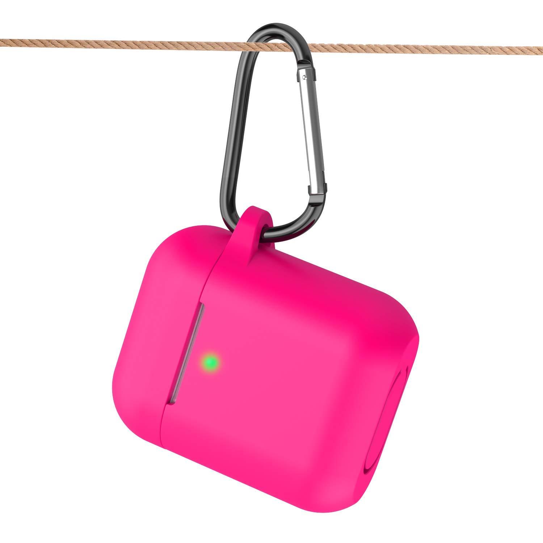 Funciona con Carga inal/ámbrica KOKOKA Funda AirPods Silicona Compatible con Apple AirPods 2 /& 1 - - Amarillo sin complicaciones Extra protecci/ón LED Frontal Visible