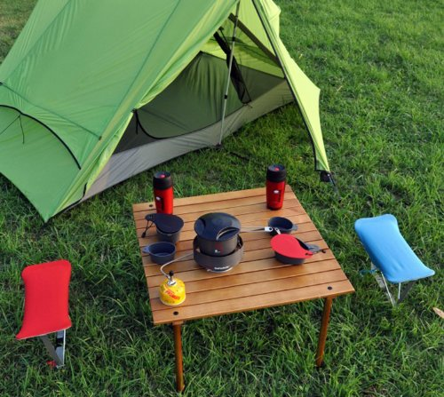 Table in a bag w2716 original low wood portable table with carrying bag brown buy online in - Low portable picnic table in a bag ...