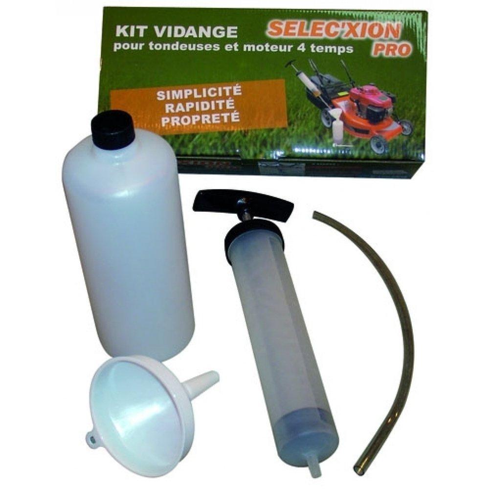 Kit cambio de aceite para cortacésped: Amazon.es: Hogar