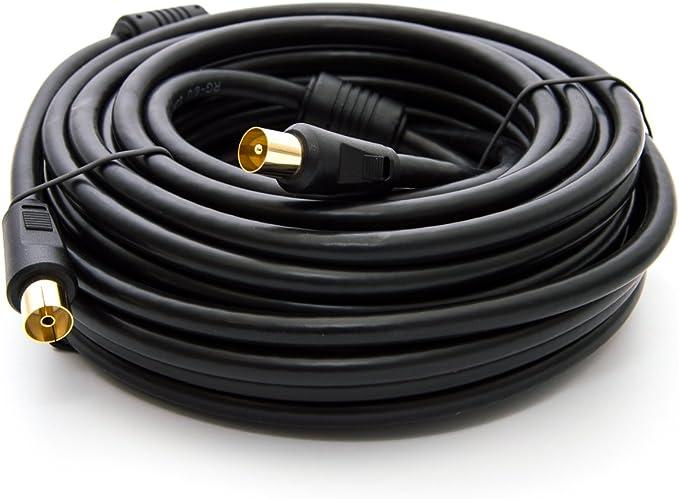 Premiumx 5m Basic Line Tv Antennenkabel Iec Anschlusskabel