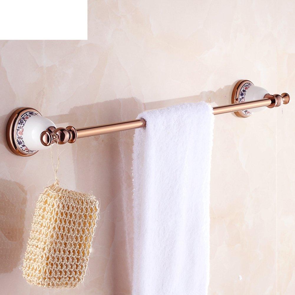 best European style towel rail/rose gold/antique bathroom hardware ...