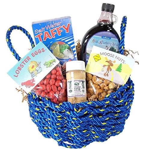 """Best of Maine"" Lobster Rope Gift Basket"