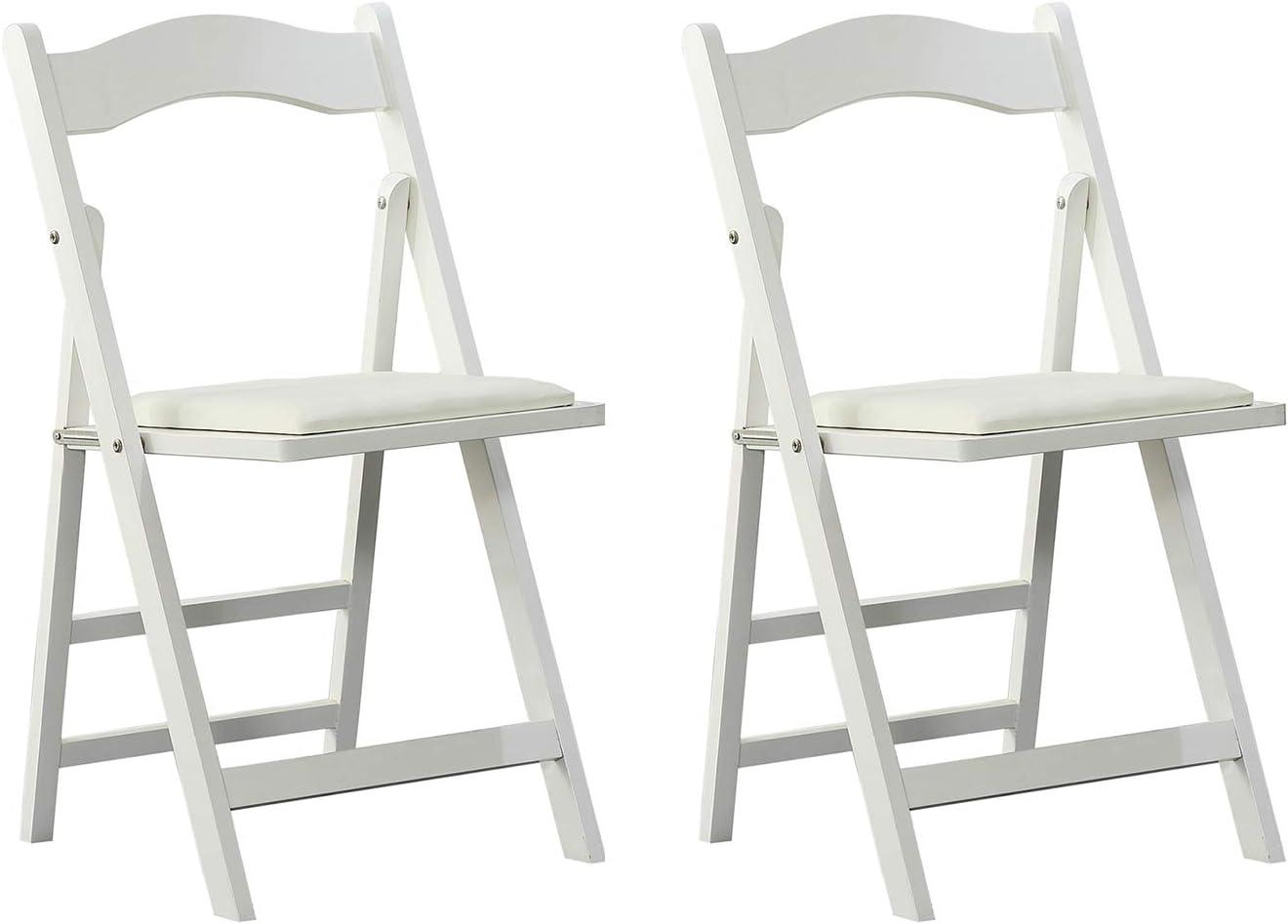 Arcalt Silla plegable de silla de comedor silla de madera para ...