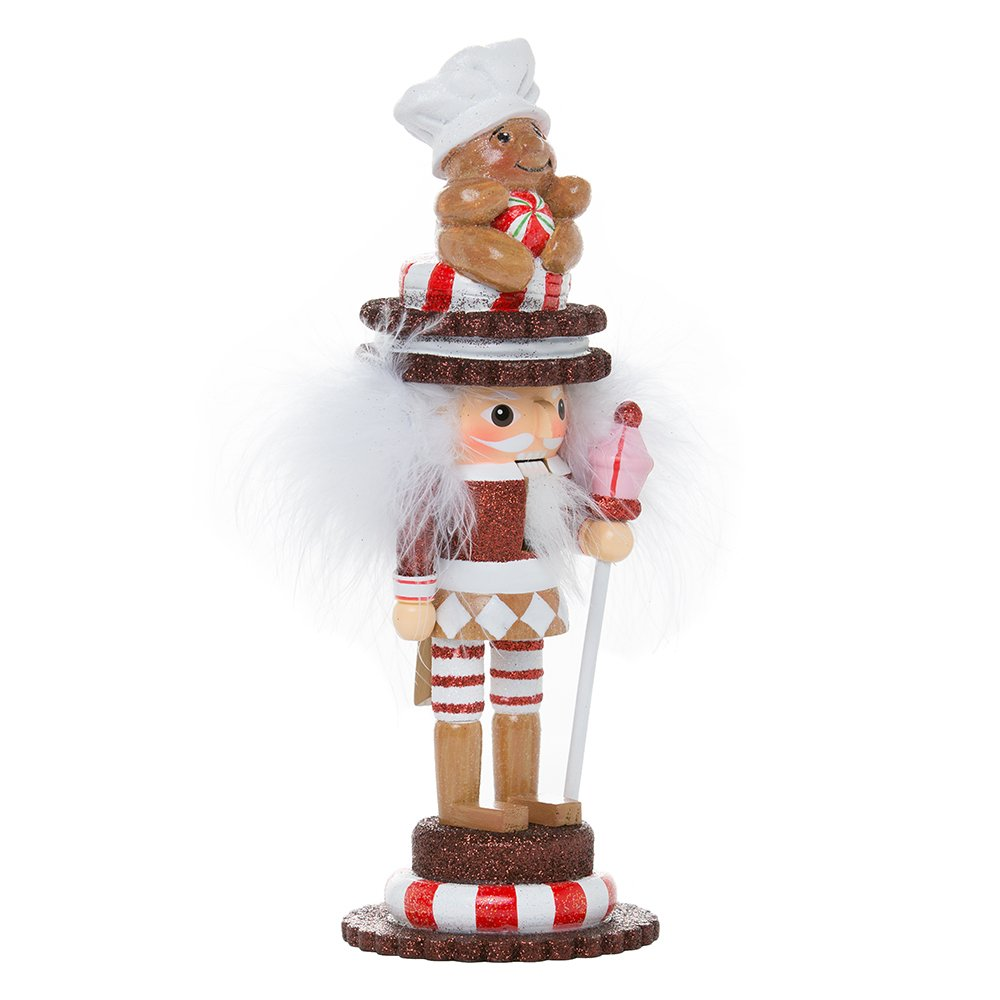 Kurt Adler HA0377 9'' Hollywood Gingerbread Soldier Nutcracker
