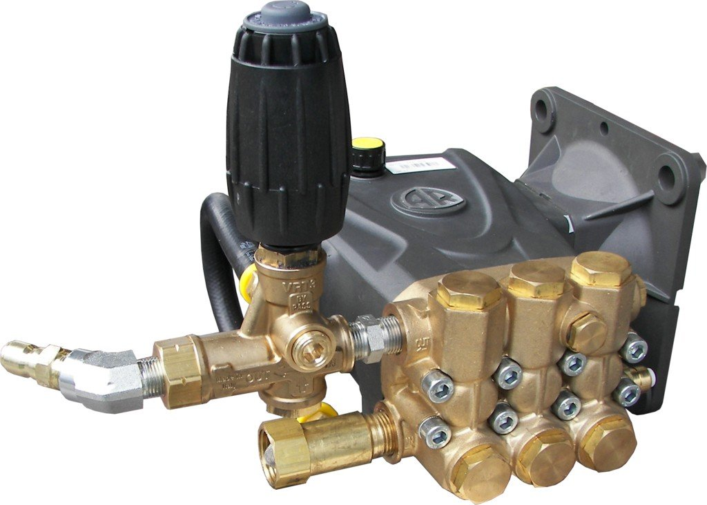 Pressure Washer Pump 4000psi, Plumbed Unloader Annovi Reverberi RRV4G40D-F24 by AR North America