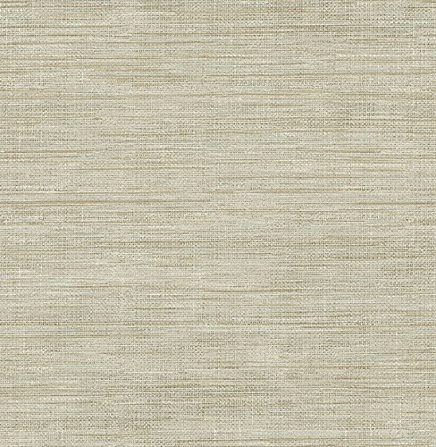 Brewster Wallcovering Co FD23284 Woven Beige Faux Grasscloth Wallpaper, Beige Faux Wallpaper