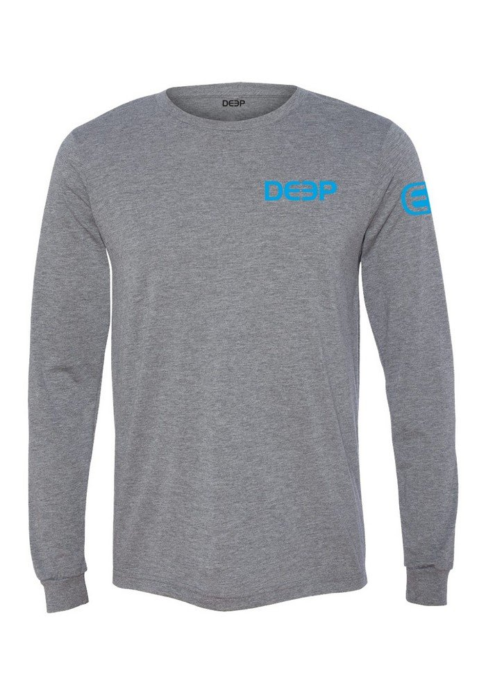 Deep Ocean Triblend Performance T-Shirt, grau, Large