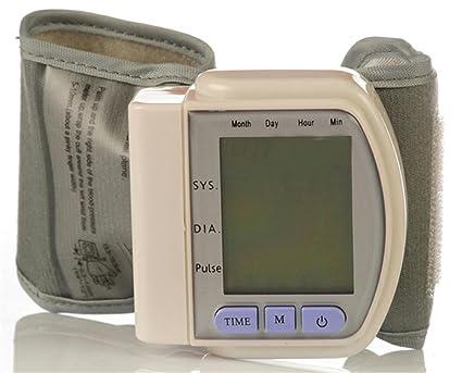 F@Tensiómetro electrónico muñeca automática presión arterial medición de presión arterial