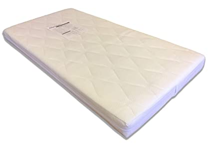 best website d5b73 6c5b1 Mother Nurture Coolio Pocket Spring Cot Bed Mattress, 140 x 70 cm
