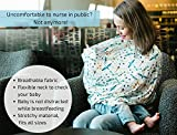 Nursing Cover, Breastfeeding Scarf, Carseat Canopy, High Chair, Shopping Cart, Stroller Baby Car Seat Covers for Boys and Girls, Stretchy Multi Use Infinity Scarf and Shawl - Kidz Pride Dragonfly