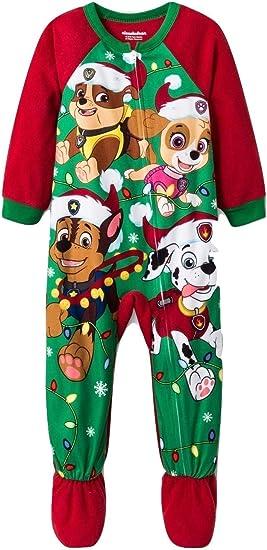 Nickelodeon Paw Patrol Toddler Boy Long Sleeve Christmas Pajamas New 5T