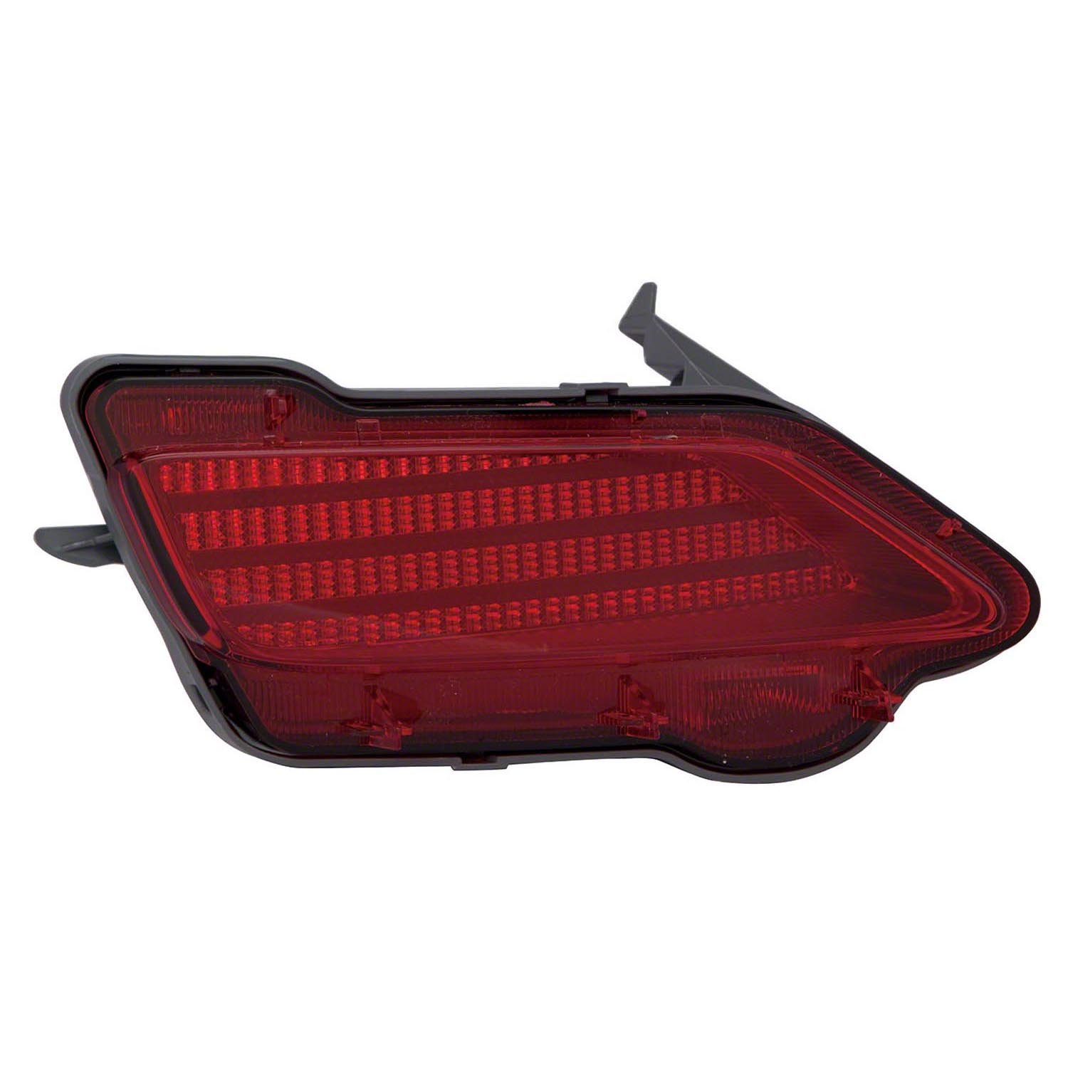 Multiple Manufacturers OE Replacement 2013-2015 Toyota RAV4 Bumper Cover Reflector Partslink Number TO1184107