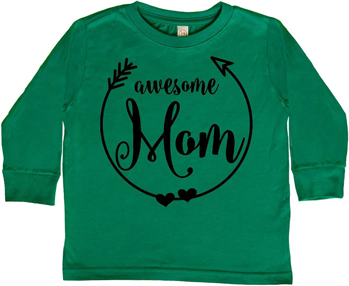 inktastic Awesome Mom Gifts Toddler Long Sleeve T-Shirt