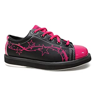 Pyramid-Women's-Rise-Black/Hot-Pink-Bowling-Shoes