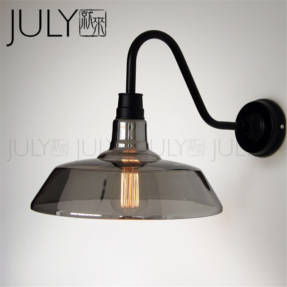 JJZHG Wandleuchte Wandlampe Wasserdicht Wandbeleuchtung Kommen Sie zur Wandlampe Cafe Bar Restaurant Schlafzimmer Nachttischlampe einfache Retro-Wandlampe beinhaltet  Wandlampe