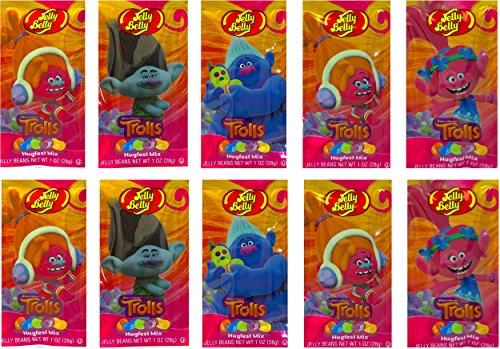 NEW Dreamworks Trolls Easter Jelly Belly Hugfest Mix Net Wt