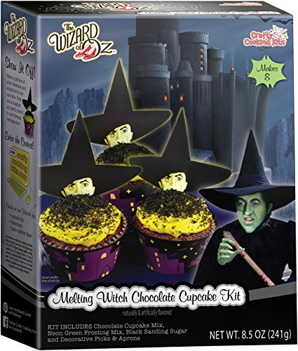 [Crafty Cooking Kits Wizard of Ounce  Melting Witch Cupcake, Chocolate, 8.5 Ounce] (Cupcakes Frosting Halloween)