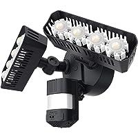 SANSI LED Motion Sensing Security 36W Lights (Black)