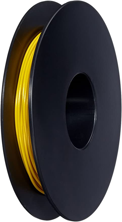 10m LIY Kabel Litze 0,25mm² 1-adrig Kupferlitze Schaltlitze 10 Meter Ring grau
