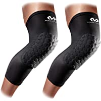 Knee Compression Sleeves: McDavid Hex Knee Pads Compression Leg Sleeve for Basketball, Volleyball, Weightlifting, and…