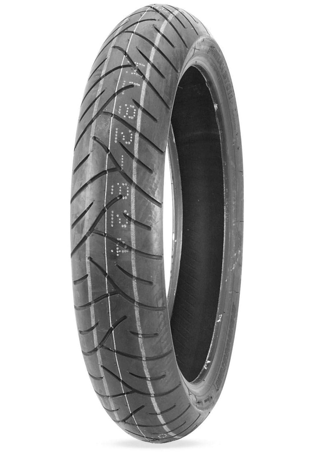 Bridgestone Exedra G721 Front Tire - 120/70-21, Load Rating: 62, Speed Rating: H, Tire Application: Touring, Position: Front, Tire Size: 120/70-21, Tire Construction: Bias, Tire Type: Street, R