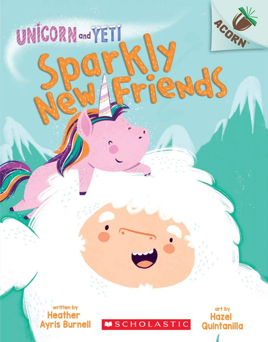 The Best Chapter Books for 1st Graders featured by top Seattle lifestyle blogger, Marcie in Mommyland: Unicorn and Yeti