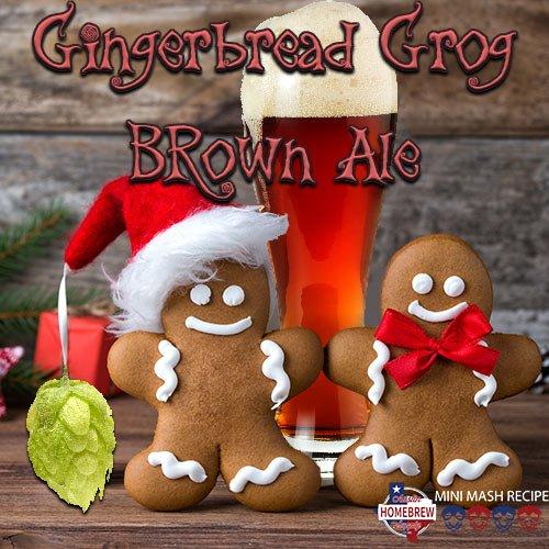 Austin Homebrew Gingerbread Grog Brown Ale Ale (23) - MINI ()