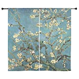 Cheap CafePress – Almond Branches by Van Gogh 60″ Curtains – 60″ Decorative Window Curtains, Sheer Drapery Window Treatment