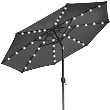 umbrella market light garden patio wayfair solar larissa aluminum tilt keyword