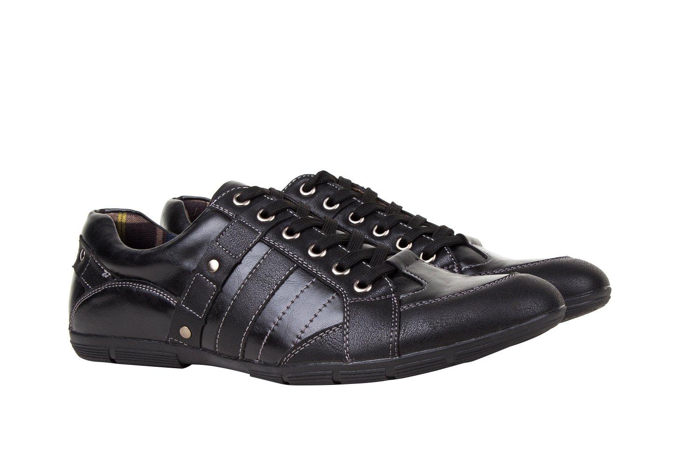 UV SIGNATURE Men's UV-301 Russell Sneakers, Black, 12