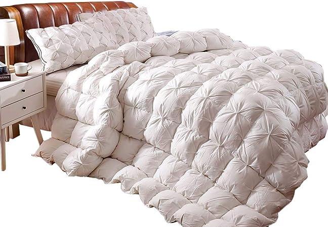 JO-Bedding Peso Pesado Ganso edredón - 100% algodón Plisado Tela - Ganso - El Tiempo de más frío,200 * 230cm/2KG: Amazon.es: Hogar