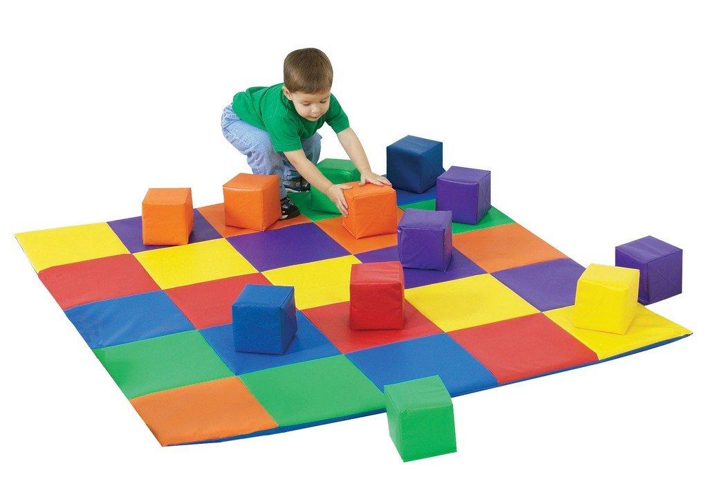 Children's Factory Matching Mat and Block Set (CF322-047)