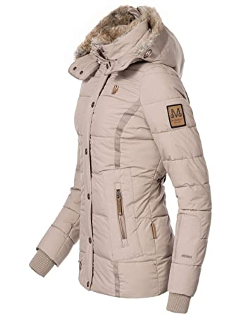 Marikoo Damen Winterjacke Steppjacke Nekoo 5 Farben XS-XXL  Amazon.de   Bekleidung dc6c169a3a