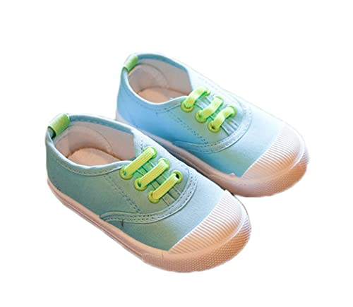 57841b03 Bakerdani Style Fashion Childrens Casual Flat Walking Shoes for Little Boys  Girls Kids Blue