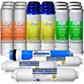 iSpring F22-75 3-Year Filter Replacement Supply Set For 5-Stage Reverse Osmosis Water Filtration Systems
