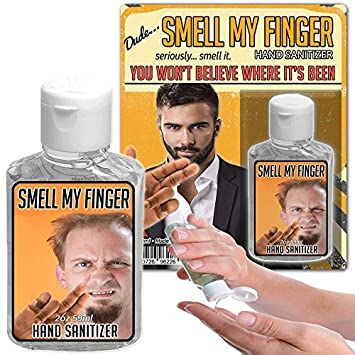 Amazon Com Smell My Finger Hand Sanitizer Gel 2 Oz Bottle