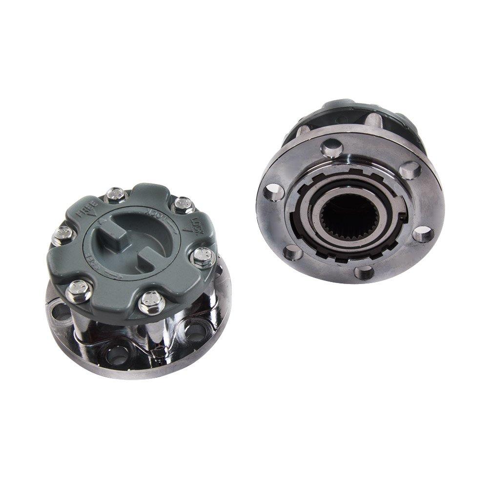 Amazon.com: maXpeedingrods Pair Free Wheel Bearing Hub Lock for Mitsubishi Triton L20 Pajero Montero NA NG MD886389: Automotive
