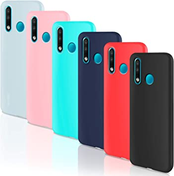 Leathlux 6 Packs Funda Huawei P30 Lite / P30 Lite New Edition, 6 ...