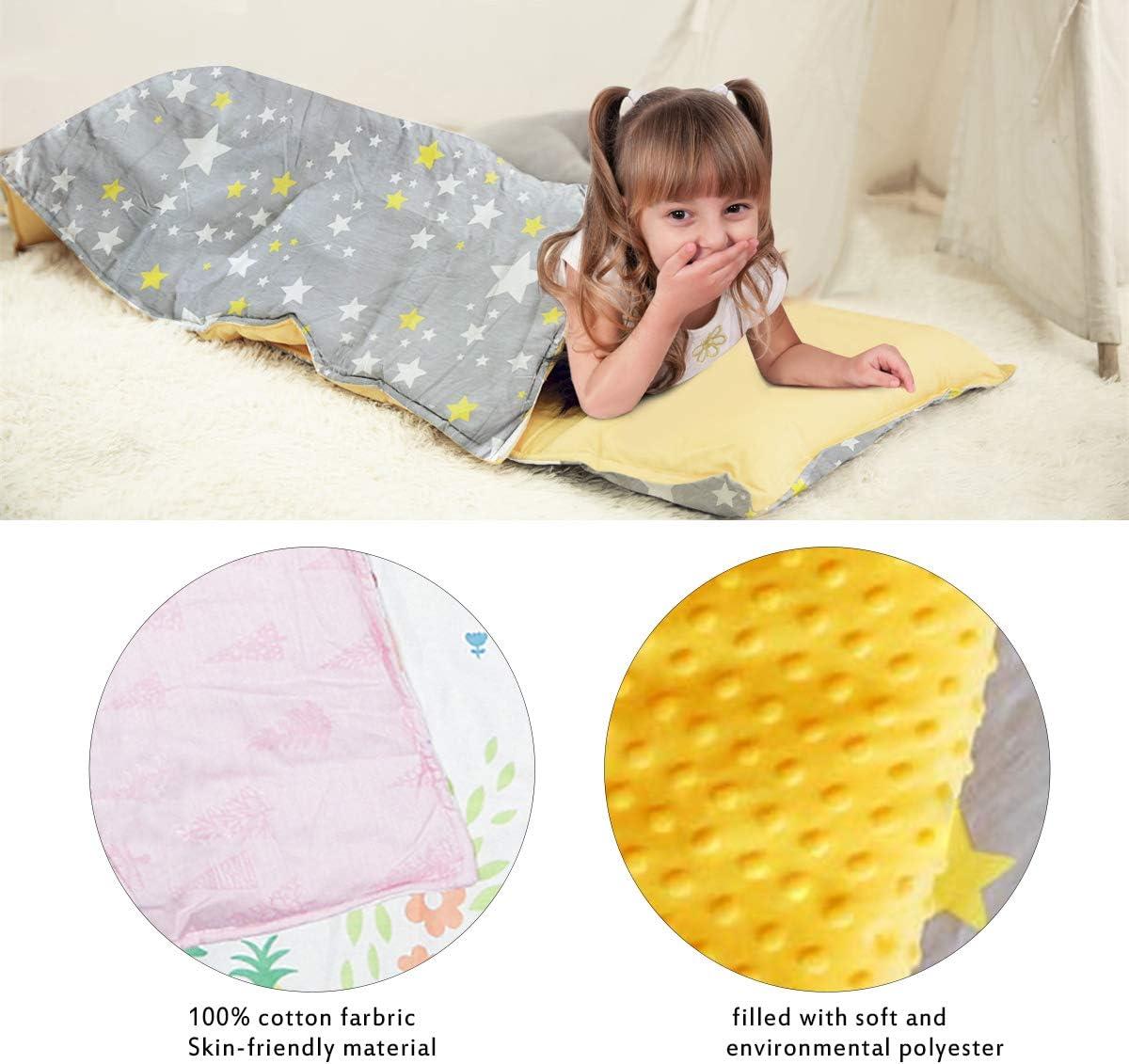 Cactus Tapis l/éger et doux pour enfants Toddler Tapis facile /à nettoyer pour b/éb/és pour enfants d/âge pr/éscolaire sac de couchage garderie