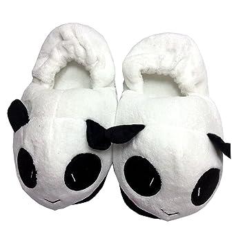 DIMDIM Cute Panda Home Pantoufles en Hiver avec Haute qualité Coral Velvet  Upper   Anti- 9b64a324397b