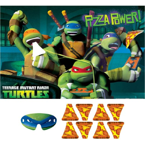 Teenage Mutant Ninja Turtles Party Game, Feed The Pizza to M