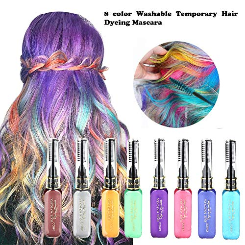 Hair Chalk Comb,WensLTD New Hair Chalk Set Temporary for sale  Delivered anywhere in USA