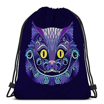 Jiuerlius1 Drawstring Backpack Bag Lightweight Gym Travel ...