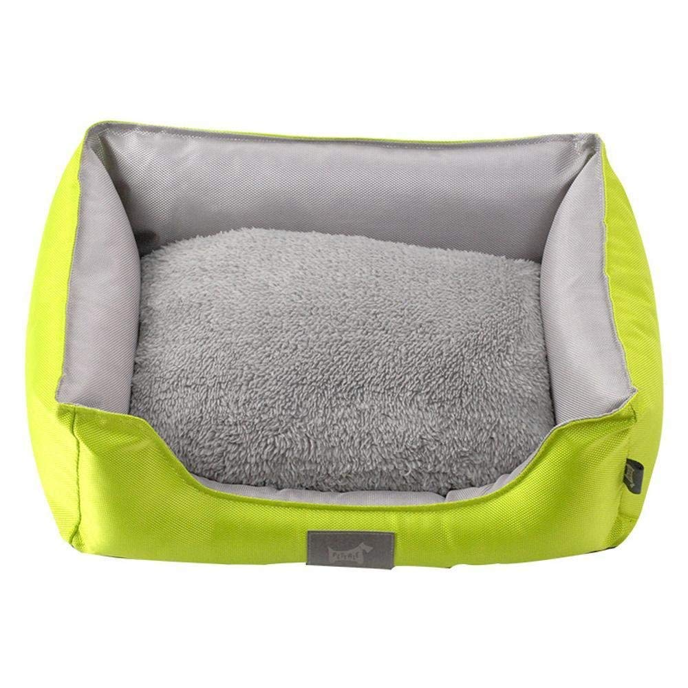 Gperw Oxford Cloth detachable cushion small dog bed Four Seasons general Non Slip Cushion Pad
