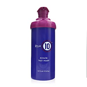 It's a 10 Haircare Miracle Hair Mask, 17.5 fl. oz.