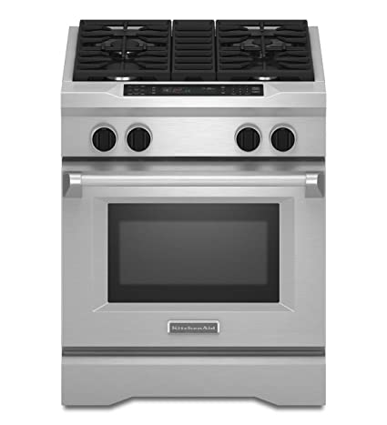 Kitchenaid KDRS407VSS Commercial Style Dual Fuel Range