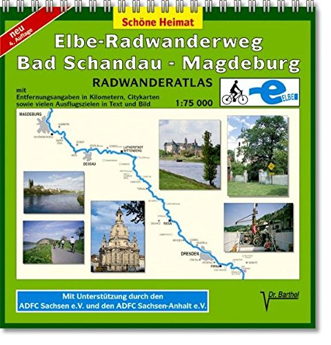 Doktor Barthel Radwanderatlas, Elbe-Radwanderweg Bad Schandau-Magdeburg