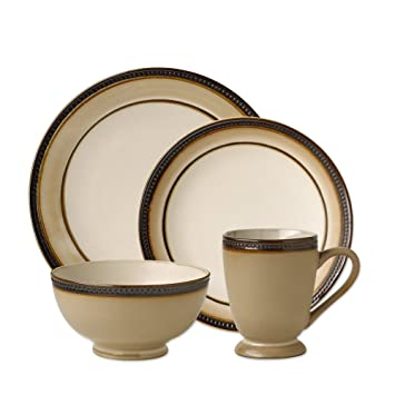 Pfaltzgraff Everyday Catalina 16 pc. Dinnerware Set Service for 4  sc 1 st  Amazon.com & Amazon.com | Pfaltzgraff Everyday Catalina 16 pc. Dinnerware Set ...