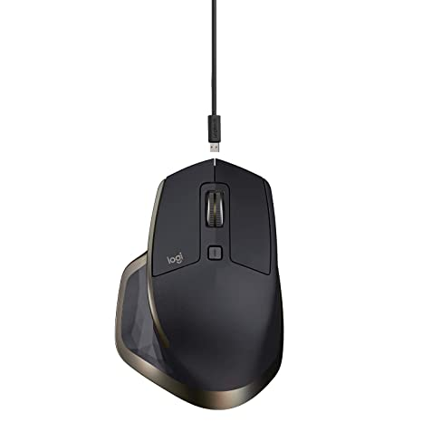 Logitech MX Master Wireless Mouse - High-precision Sensor